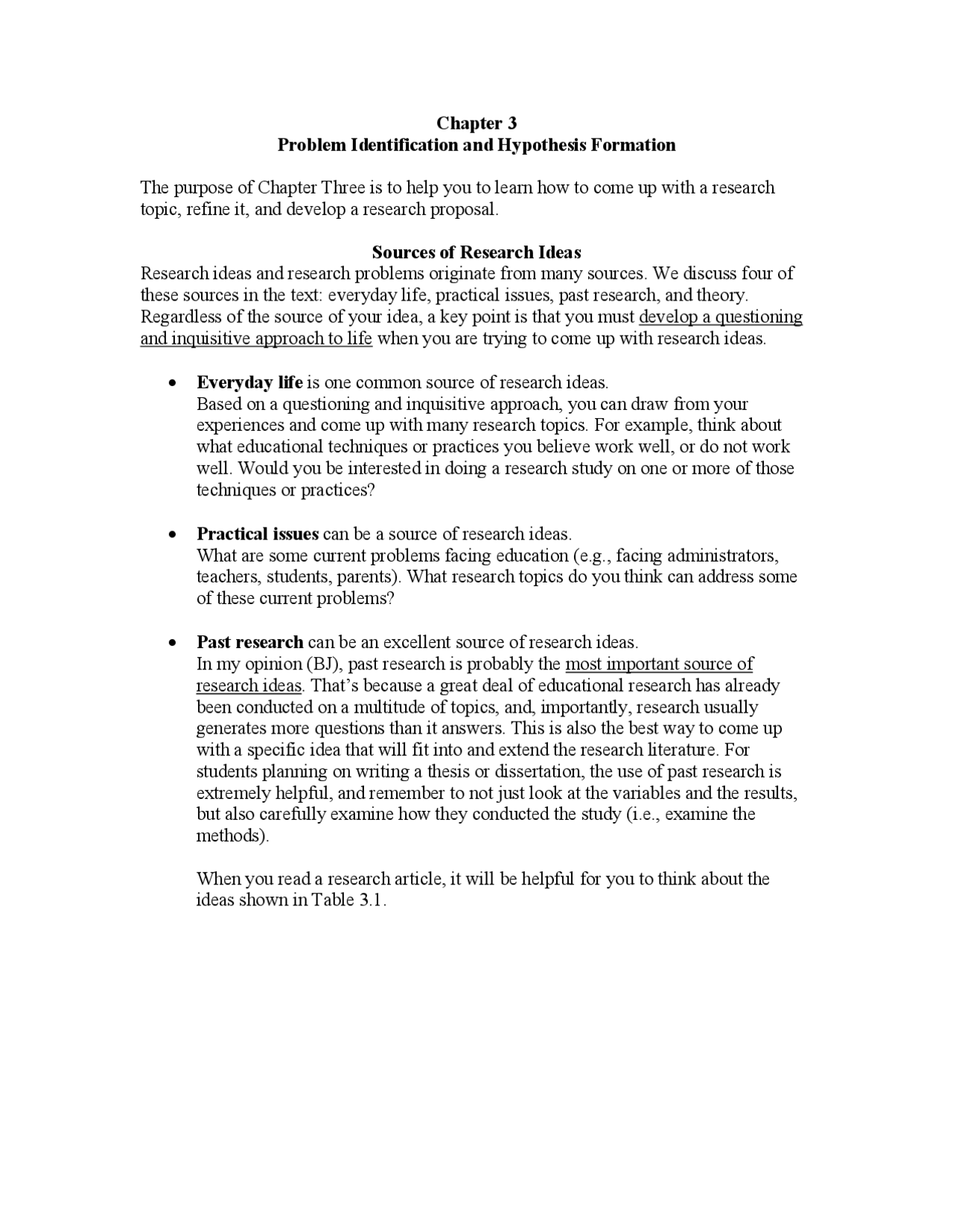 Sample of hypothesis in research proposal area of interest in resume for computer science