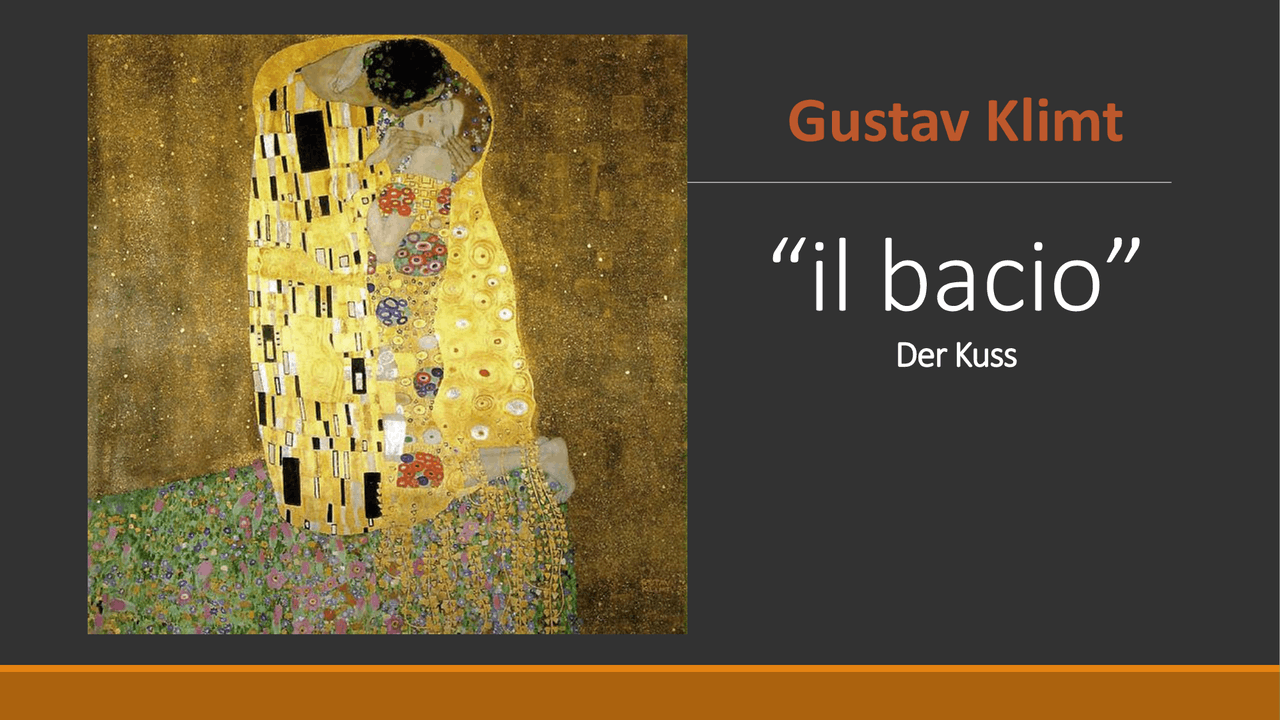 Klimt il bacio - Docsity