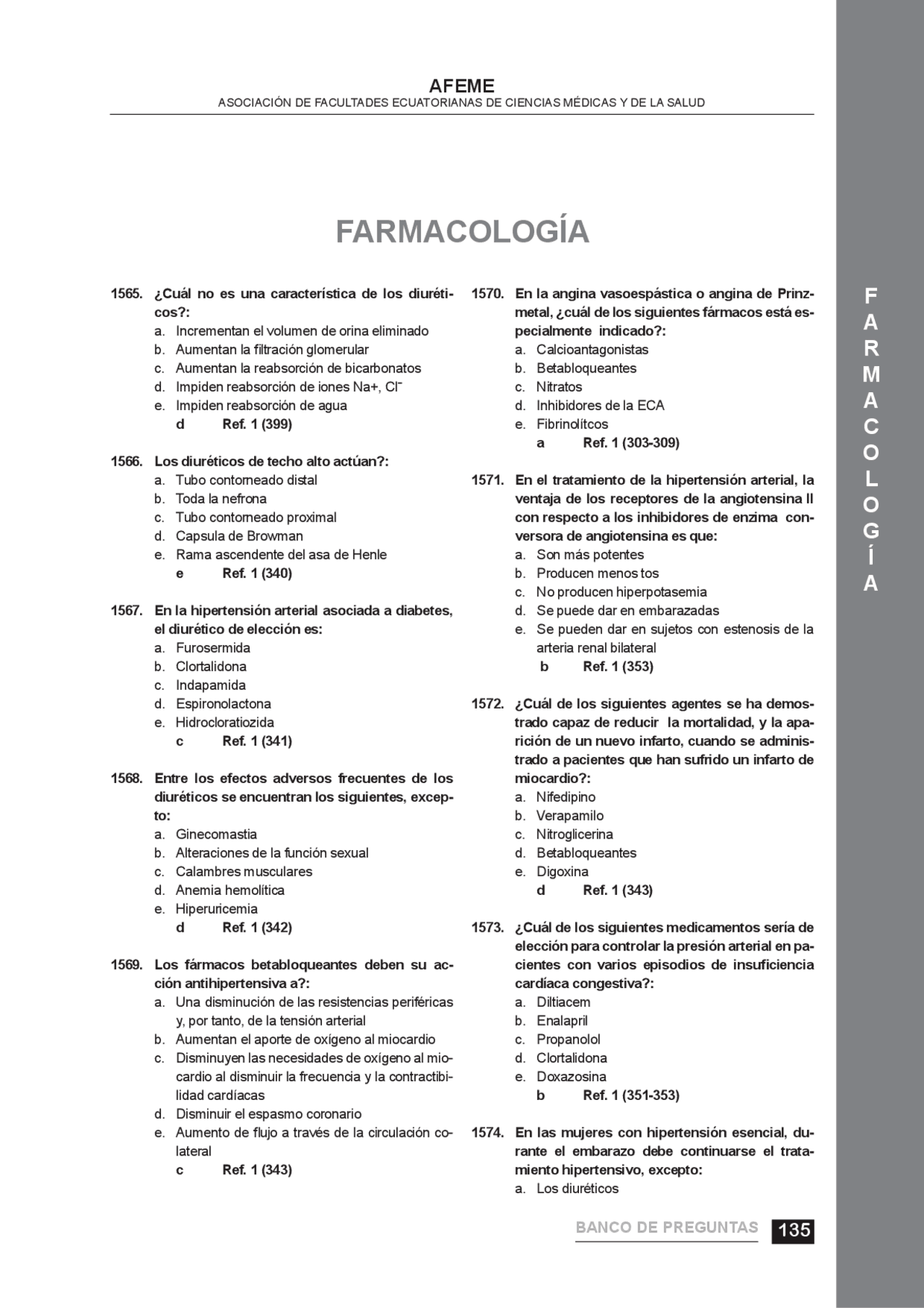 Examen Del Curso De Farmacologia Tes Sobre Farmacologia General 128 Preguntas Docsity