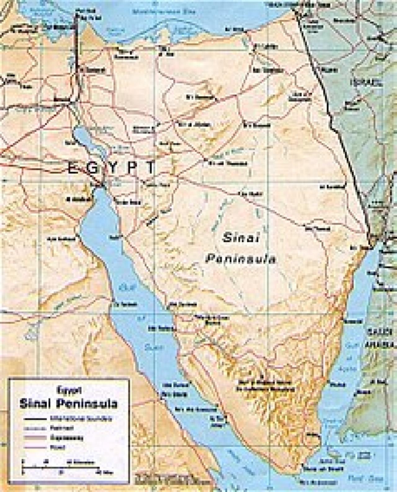 Cartina Egitto In Italiano.Cartina Fisica Egitto Docsity