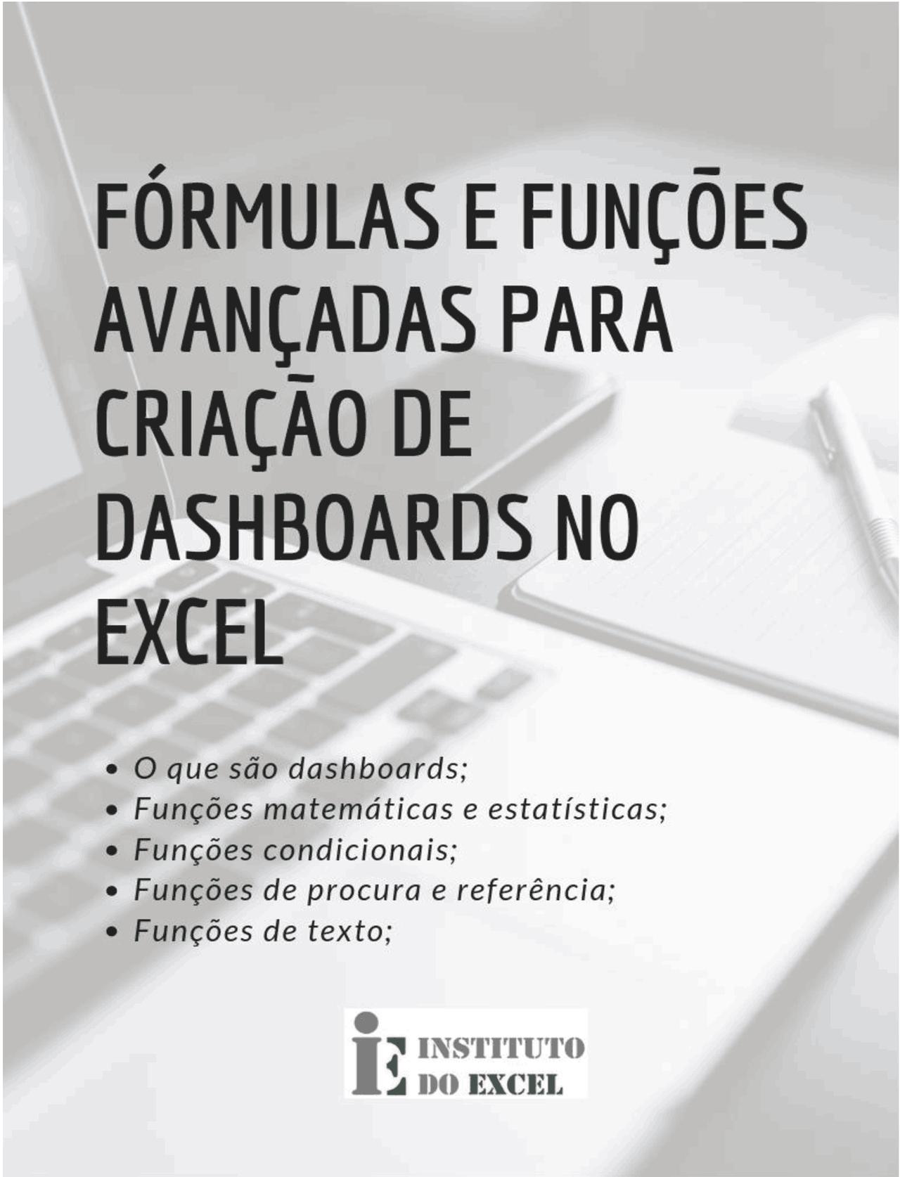 Fórmulas e funções avançadas no Excel   Docsity