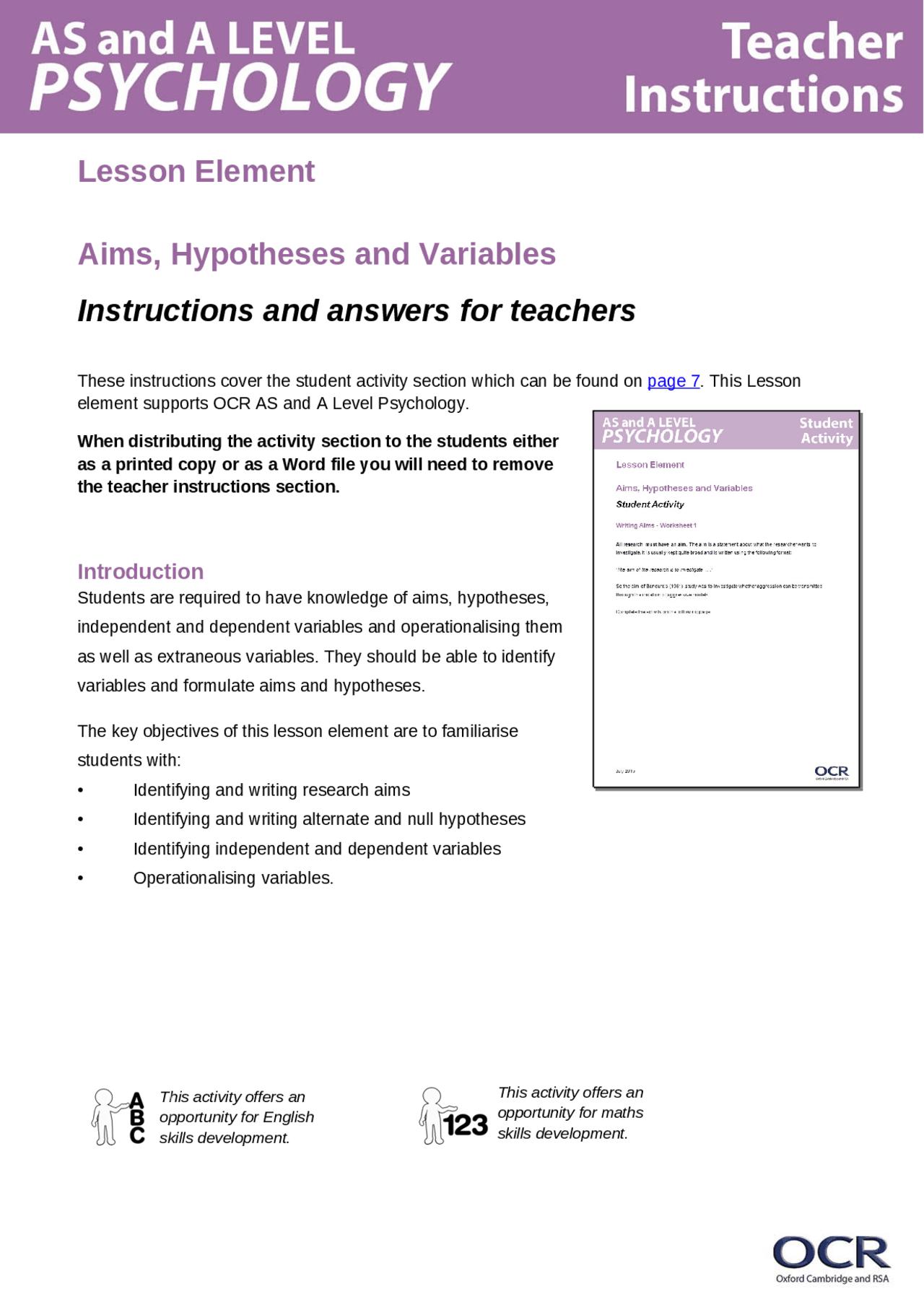 Hypothesis Worksheet For Practice Docsity [ 1811 x 1280 Pixel ]