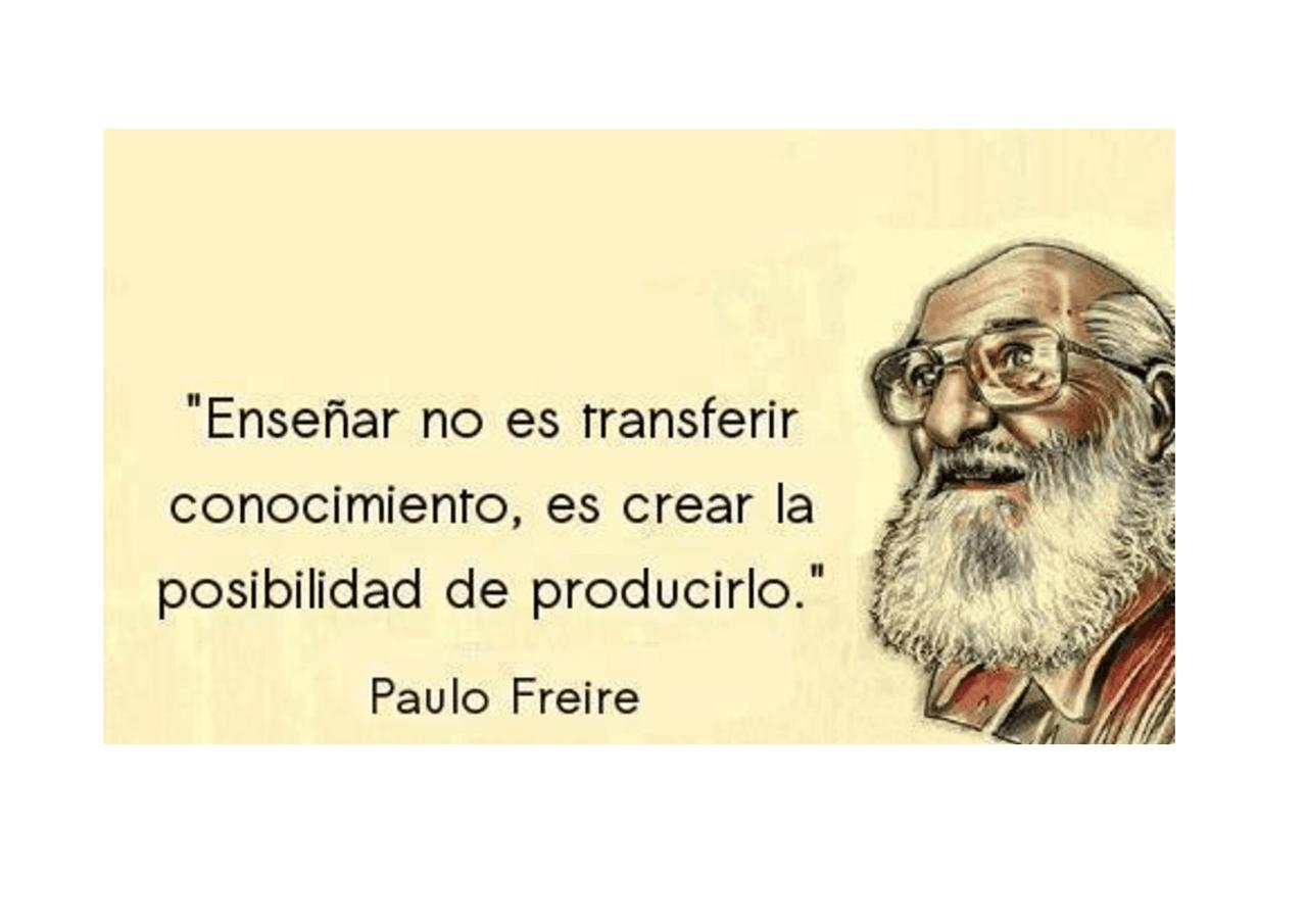 Paolo Freire ( gli autori) - Docsity