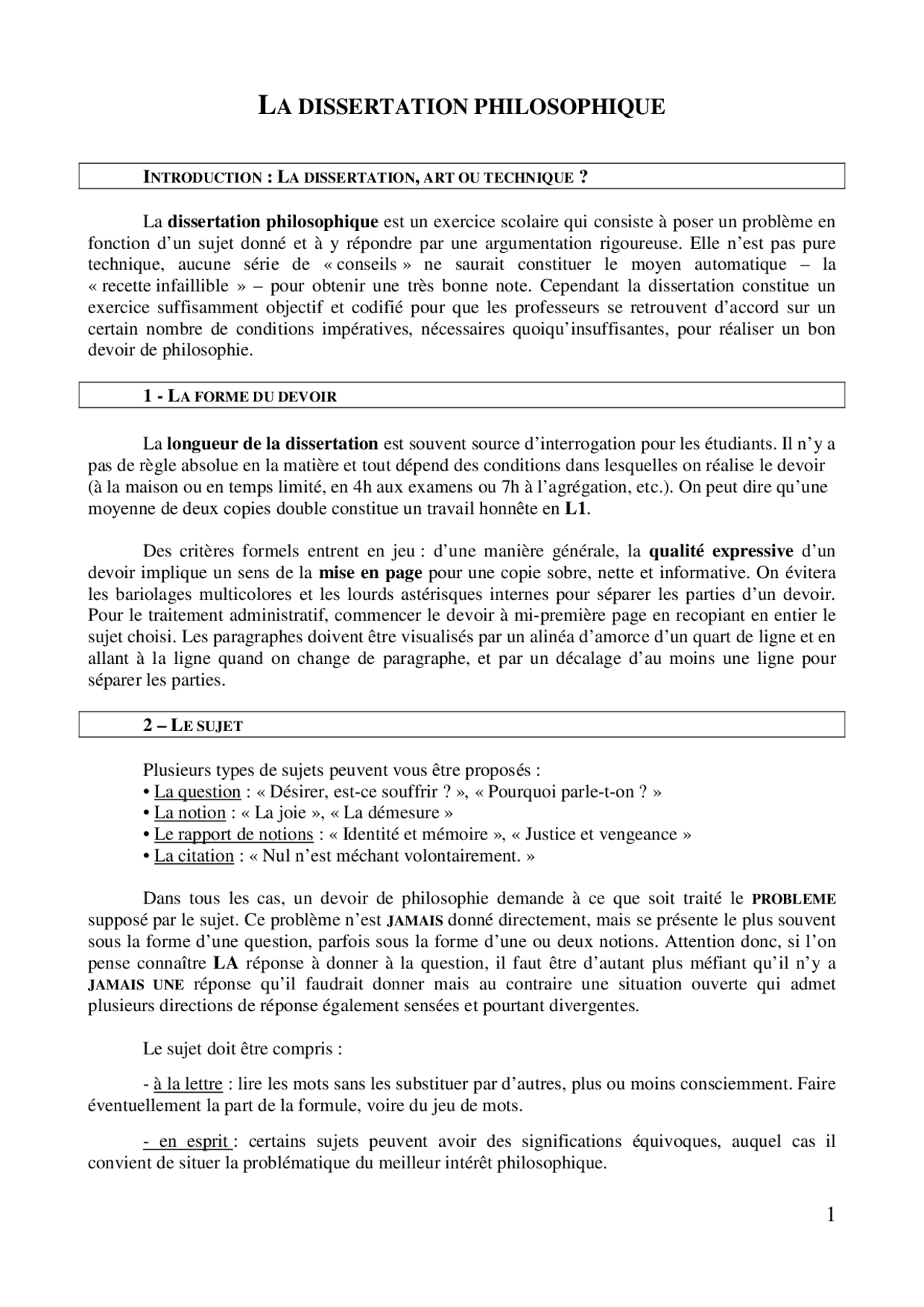 Types sujets dissertation philosophique why do we study economics essay