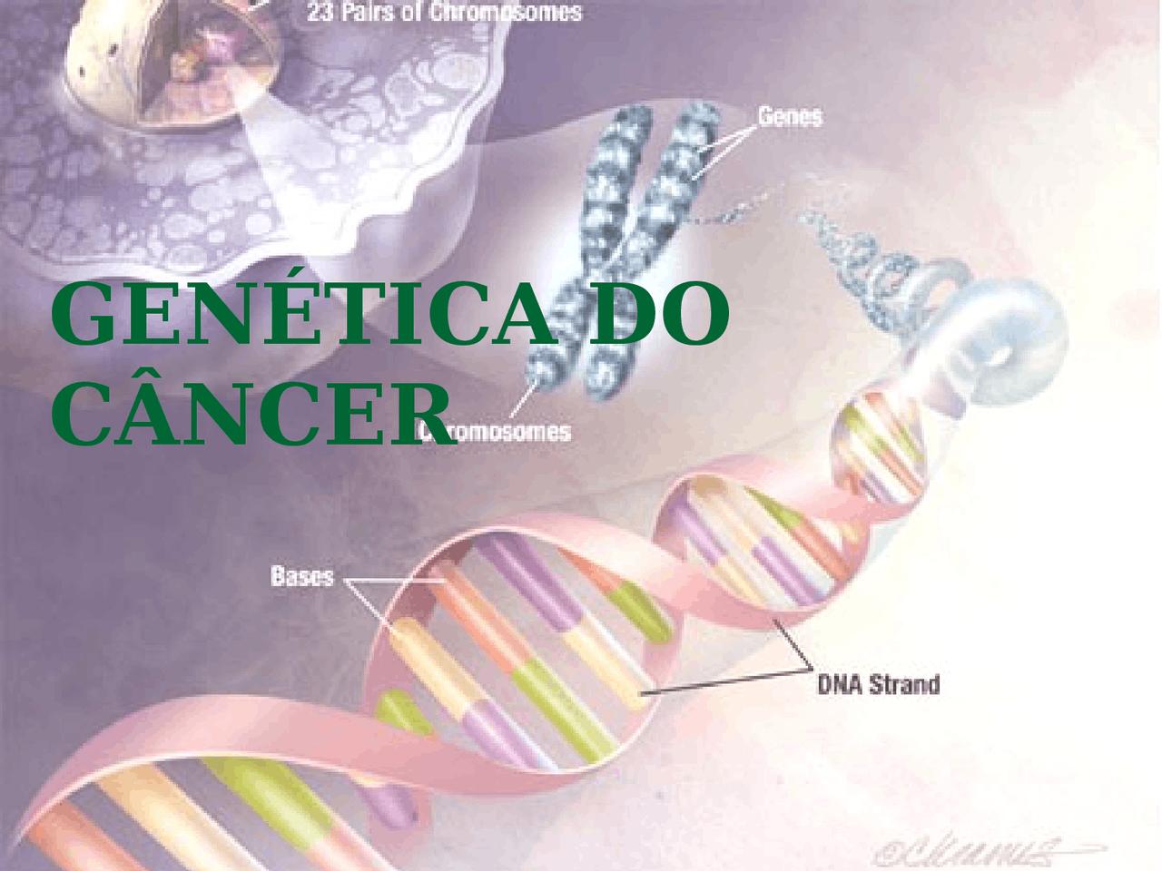cancerul si genetica