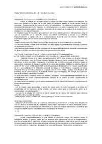 Traumatologia (Principales abordajes de Traumatología)