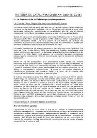 Història de Catalunya (segle XX) (Llibre), Monografías, Ensayos de Historia de España