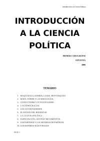 Introducció a la ciència política