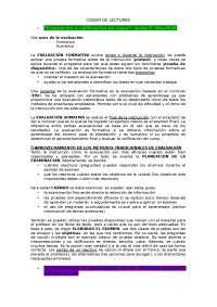 Resum Dossier Lectures (2006)