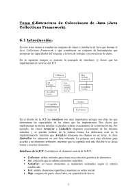Estructura de Colecciones de Java