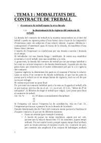 dret treball II