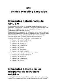 Ingenieria del SW (UML)