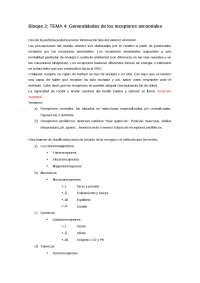 TEMA 4: Generalidades de los receptores sensoriales