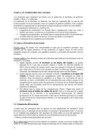 Regulación de los espacios y territorios internacionales