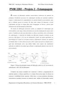 estampagem transparencias, Notas de estudo de Mecatrônica