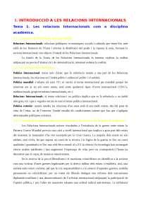 Apunts Relacions Int. I