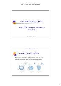 resistencia dos materiais, Notas de aula de Engenharia Elétrica