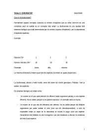 bloc 2 segon semestre, Apuntes de Ecología