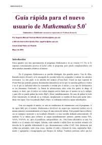 Guía Mathematica 1.0