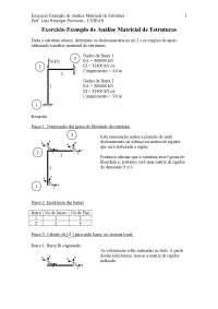 Análise Matric, Notas de estudo de Engenharia Civil