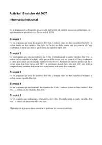 Pràctica 1 (ampliació) (curs 2008-2009)