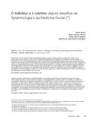 Epidemiologia Qualitativa, Notas de estudo de Matemática
