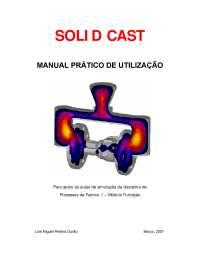 SOLIDCast 2007 Manual, Manuais, Projetos, Pesquisas de Cultura