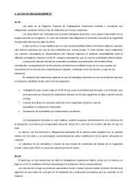 ACTOS DE ENCUADRAMIENTO