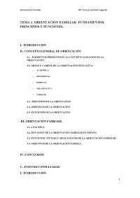 Tema1 Orientación familiar: fundamentos, principios y funciones