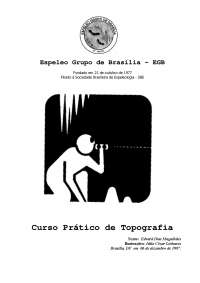 Topografia de Cavernas, Notas de estudo de Topografia