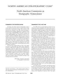 Guia de nomenclatura estratigráfica, Notas de estudo de Geologia