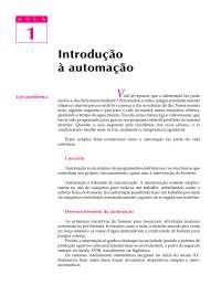 Aula 1 - Introdução a Automação, Notas de aula de Engenharia Mecânica