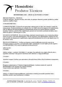 Execusão de Piscinas, Notas de estudo de Engenharia Civil