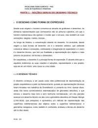Apostila Desenho - Arquitetura FAG, Notas de estudo de Engenharia Civil