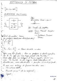 Appunti di elettronica di potenza - Parte 1