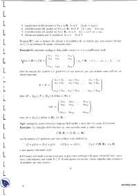 Dispense di geometria - 3