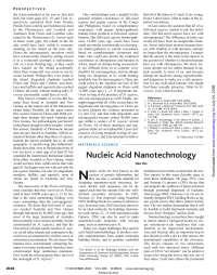 Nucleic Acid Nanotechnology, Notas de estudo de Engenharia de Produção