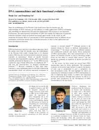 DNA nanomachines and their functional evolution, Notas de estudo de Engenharia de Produção