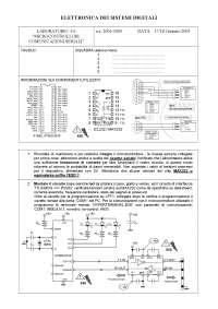 Elettronica dei sistemi digitali - Esercitazione di Laboratorio 6