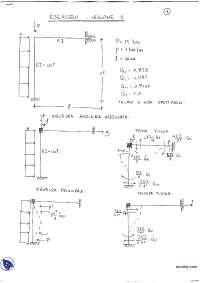 Esercizi svolti - Tecnica delle costruzioni - Materiali per le costruzioni - Prof. Palermo, Bamonte e Valente
