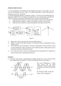Strum. e sistemi misura - Esercitazione misuratore fase