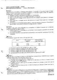 Simulazione esame con soluzione di Istituzioni di economia - 13 05 03