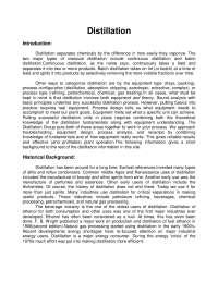 Destilação (Distillation) para Engenheiros Químicos - in English, Notas de estudo de Engenharia Química