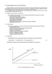 Organização Industrial USP - Notas de Aula - Cap 04 Planejamento de Custos Industriais, Notas de aula de Engenharia Química