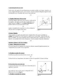 Análisis Vectorial (Primer tema)