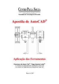 AutoCAD - Comandos Básicos, Notas de estudo de Engenharia Mecânica