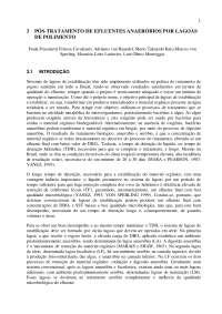 Pós tratamento de efluentes de reatores anaeróbios- cap 3, Notas de estudo de Engenharia Química
