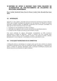 Pós tratamento de efluentes de reatores anaeróbios- cap 10, Notas de estudo de Engenharia Química