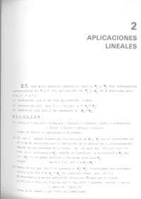 Algebra Libro escaneado - 451 ejercicios resueltos de algebra - Cap. Aplicaciones Lineales