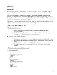 El proyecto y su clasificación: conceptos fundamentales